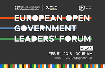 European Open Government Leaders Forum